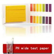 Jeobest 80PCS Per Pack PH Indicator Test Strip 1-14 Laboratory Paper Litmus Tester Urine Saliva MZ