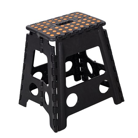 Terrific Karmas Product 15 Folding Step Stool With Handle For Adult And Kids Kitchen Garden Bathroom Tall Stepping Stools Onthecornerstone Fun Painted Chair Ideas Images Onthecornerstoneorg