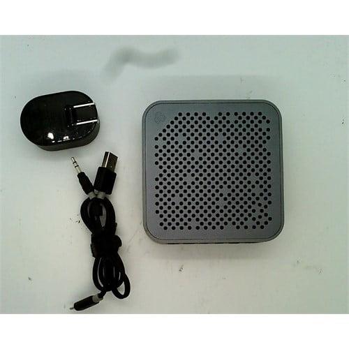 Refurbished JLab Audio Crasher MINI, METAL BUILD Portable Splashproof Bluetooth Speaker with 10 Hour Battery - Black