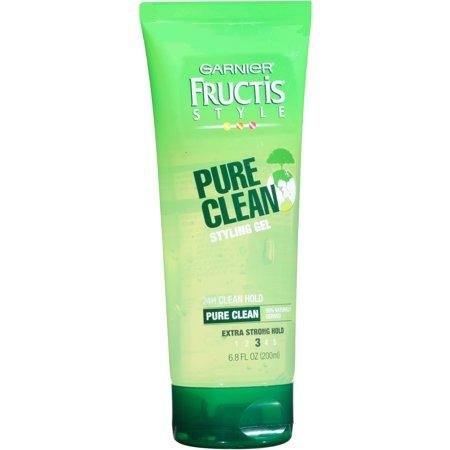 Garnier Fructis Style Pure Clean Styling Gel, 6.8 oz - Walmart.com