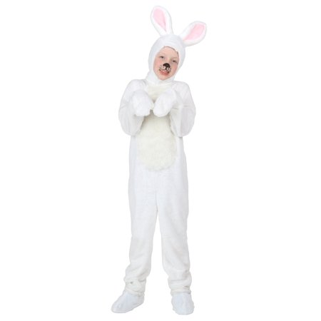 Kids White Bunny Costume (White Suit Costume)