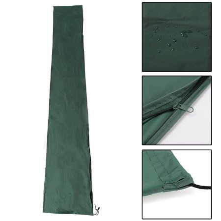 6 2X3 2 ft Large Umbrella Cover, Waterproof Patio Offset