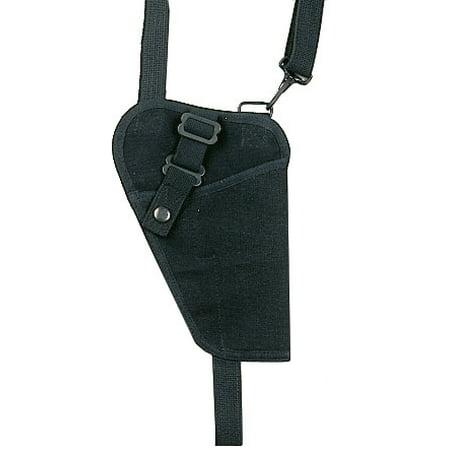Black - .45 Cal. Canvas Shoulder Holster 5 (Black Holster)