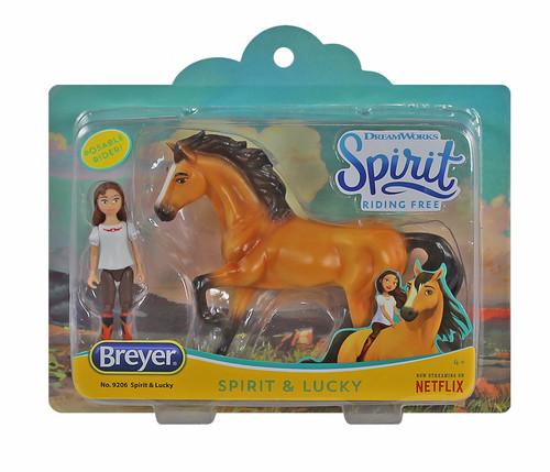 Breyer Spirit & Lucky Small Set (Spirit, DreamWorks)