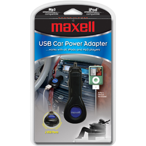 MAXELL 291211 - P112G USB Car Power Adapter