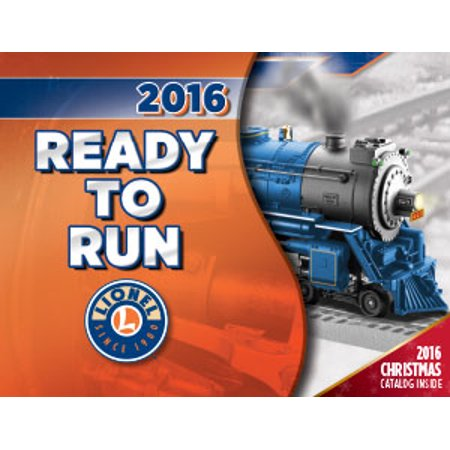 Lionel 6-83804 Lionel 2016 Ready to Run Set/Christmas Catalog - Toy Catalog