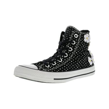 Chuck Taylor Hi Tops - Converse Women's Chuck Taylor All Star Hi Black / White High-Top Canvas Fashion Sneaker - 8M