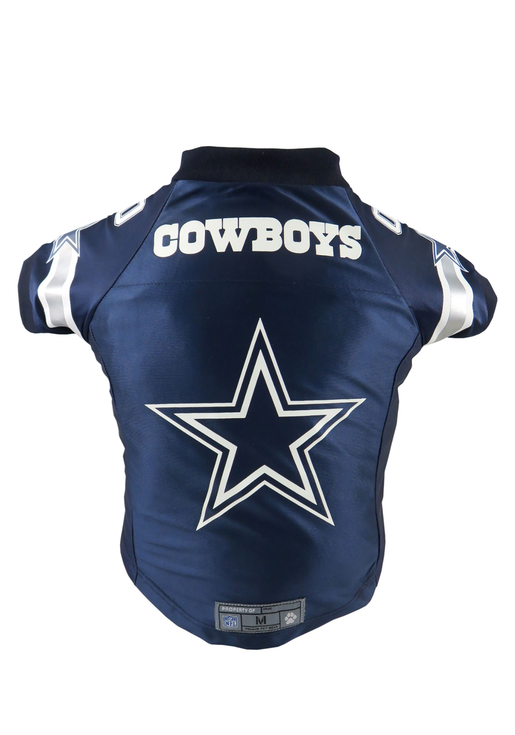 best service 90449 b115f Little Earth 320135-COWB-L NFL Pet Premium Jersey, Dallas Cowboys - Large