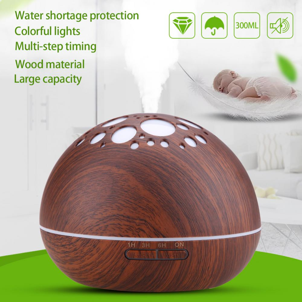 VBESTLIFE Diffuser Humidifier,300ML LED Star Ultrasonic Humidifier Cool Air Oil Diffuser Purifier Home Office Room