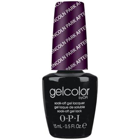 OPI GelColor Gel Nail Polish, Lincoln Park After Dark, 0.5 Oz ()