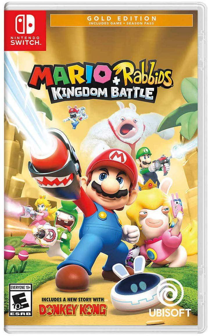 Mario + Rabbids Kingdom Battle GOLD EDITION US Version(Nintendo Switch) by UBI Soft