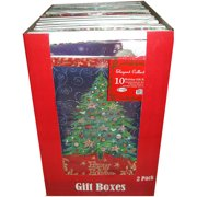 Assorted Sizes of Christmas Gift Boxes, 14 pk of 10 ct bundles