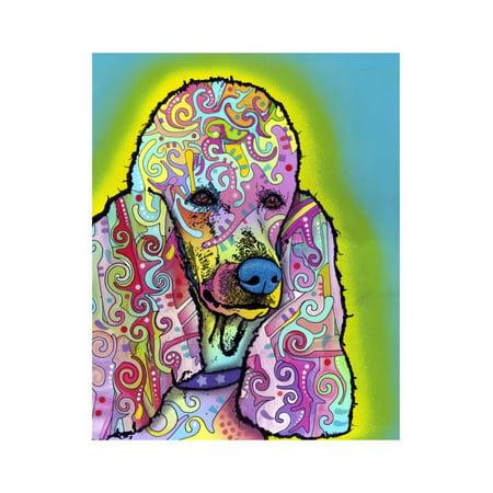Poodle Print Wall Art By Dean Russo - Walmart.com