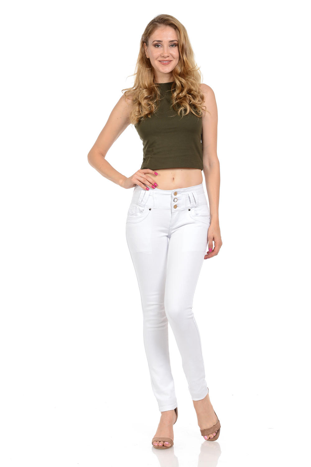 M.Michel Women's Jeans Colombian Design, Butt Lift, Levanta Cola, Push Up, Skinny · Style A10003