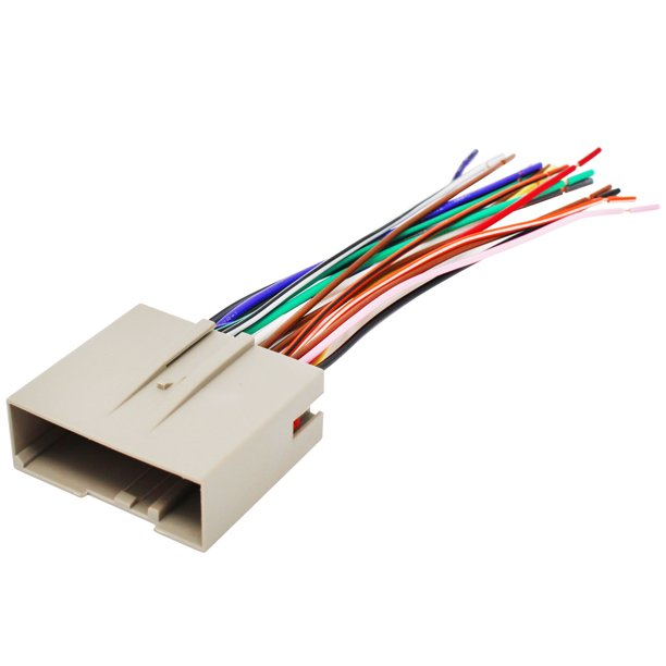 Replacement Radio Wiring Harness for 2004 Ford Explorer, 2006 Hyundai  Sonata, 2005 Ford Explorer, 2005 Ford Focus, 2007 Ford Focus, 2007 Hyundai  Sonata, 2006 Ford Focus - Walmart.com - Walmart.com
