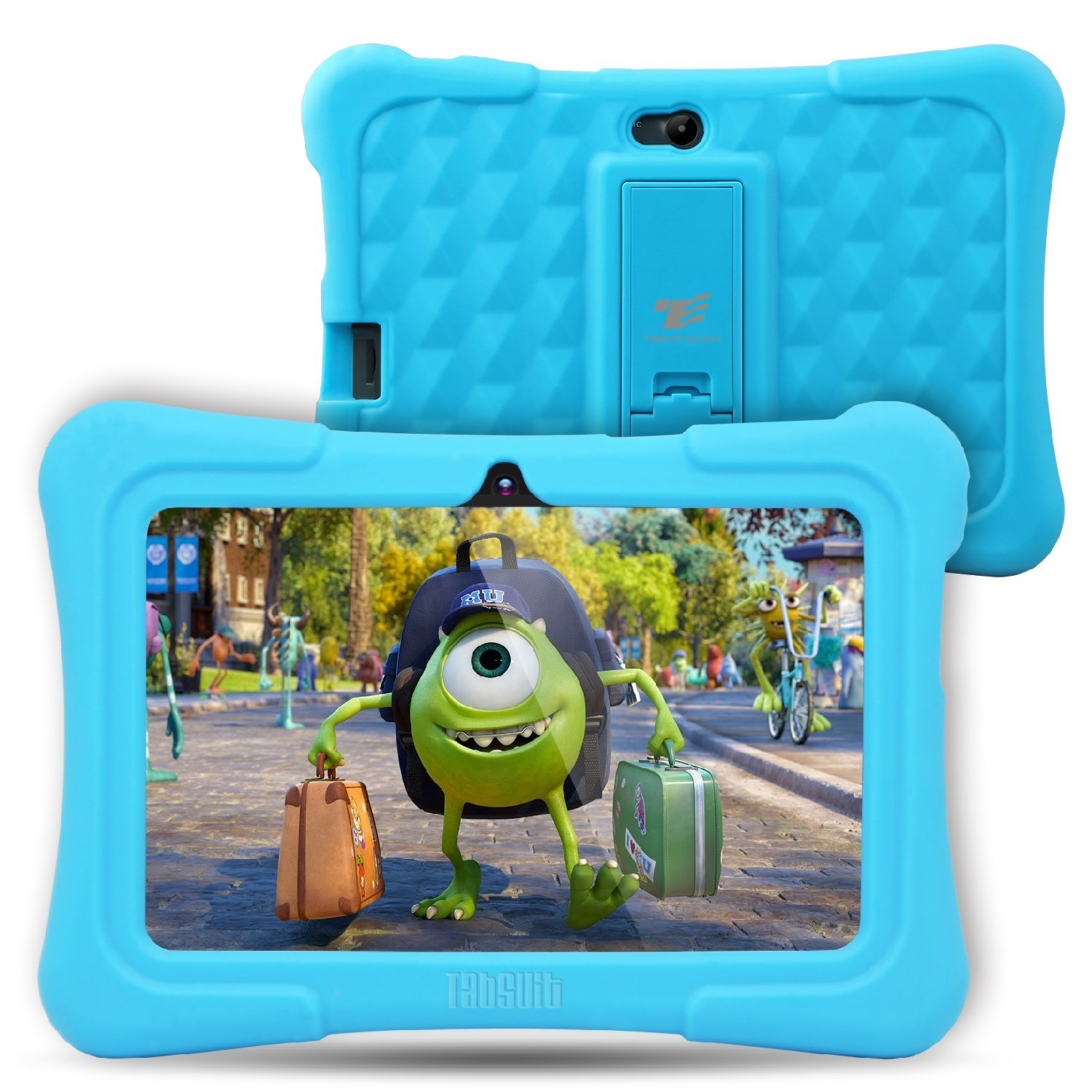 Dragon Touch Y88X Plus 7 inch Kids Tablet 2017 Disney Edition, Quad Core CPU, Android 5.1 Lollipop, IPS Display, Kidoz Pre-Installed-Blue
