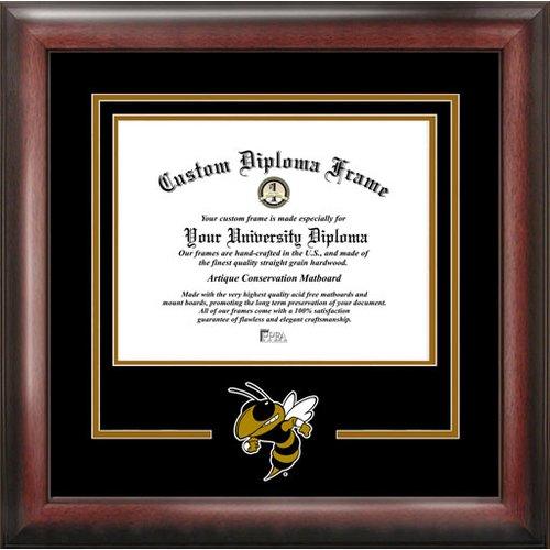 "Georgia Tech Yellow Jackets 14"" x 17"" Spirit Diploma Frame"