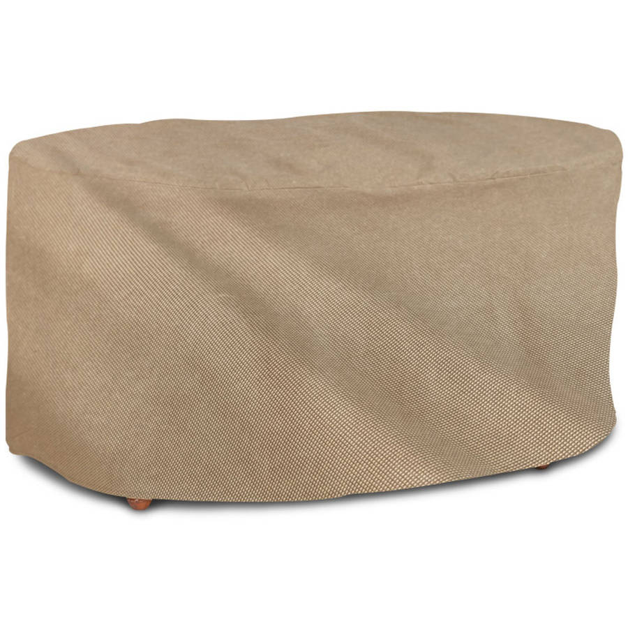 English Garden Oval Patio Table Cover, 72\