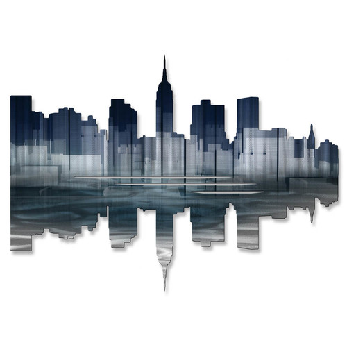 All My Walls New York City Reflection II Wall D cor