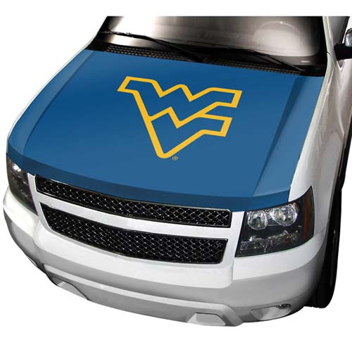 West Virginia NCAA Auto Hood Cover