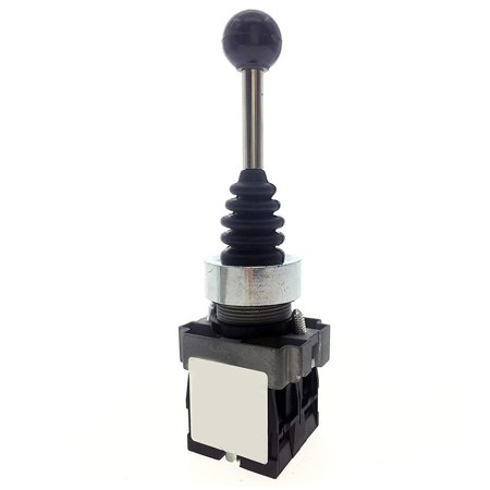 Dual Directions Spring Return Switch Monolever Auto Reset Joystick 2 Switch Positions AC 600V - image 3 de 6