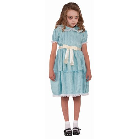 Halloween Child Creepy Sister Costume