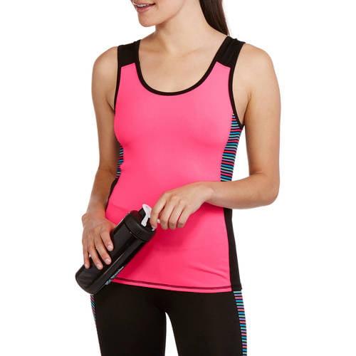 Fitspiration Women's Performance Workout Tank Top & Capri Matching Set