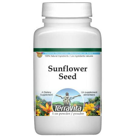 Sunflower Seed Powder  1 Oz  Zin  521481
