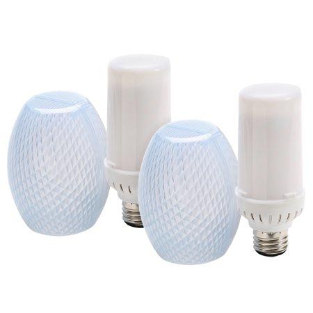 Flamewave Flickering Flame Led Light Bulb Top Or Bottom