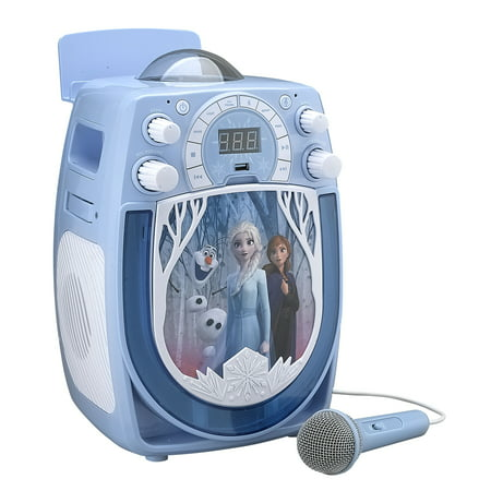 Frozen - Disney Frozen II Karaoke with Snowflake Projector and Microphone (cd+g) -  FR-677.EXV9M
