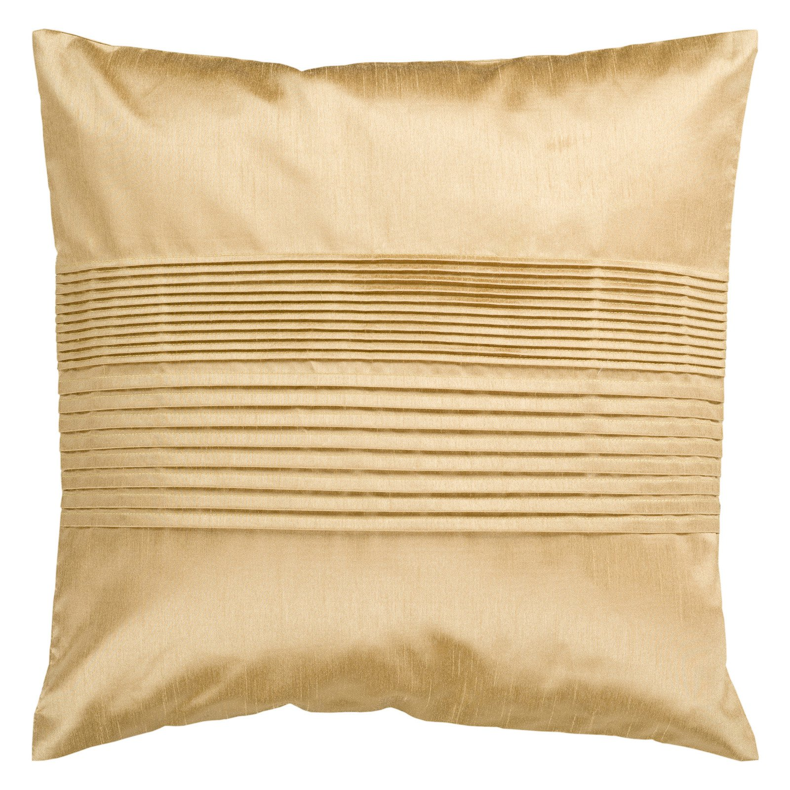 Surya Tracks Decorative Pillow - Gold