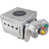 Refurbished Nintendo Gamecube Game Console Platinum with Controller and Cables