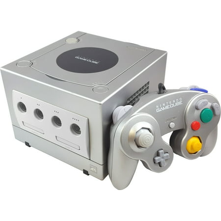 Refurbished Nintendo Gamecube Game Console Platinum with Controller and Cables (Nintendo Games Cube)