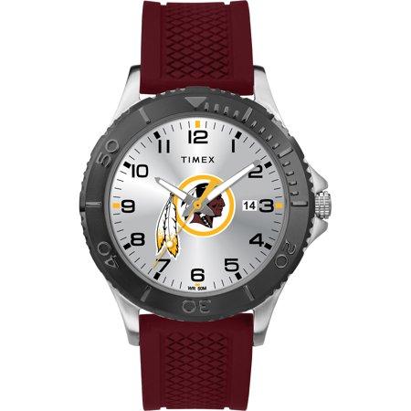 Timex - NFL Tribute Collection Gamer Crimson Men's Watch, Washington Redskins