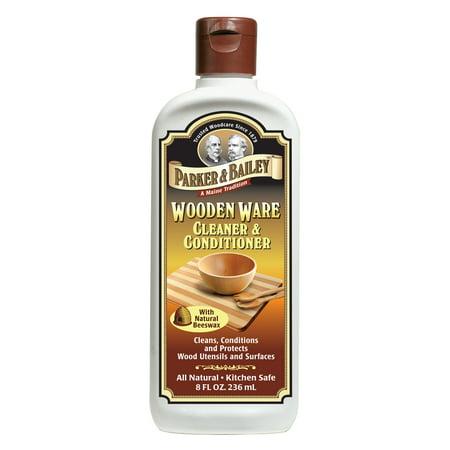 Parker & Bailey Wooden Ware Cleaner & Conditioner, 8 Fl Oz