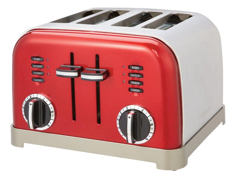 Cuisinart Metal Classic 4 Slice Toaster CPT 180 Walmart