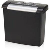GBC GBC1757402 ShredMaster PS06-02 Strip-Cut Shredder, Black & Chrome