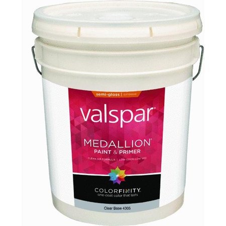Valspar Medallion 100 Acrylic Paint Primer Semi Gloss Exterior House Paint