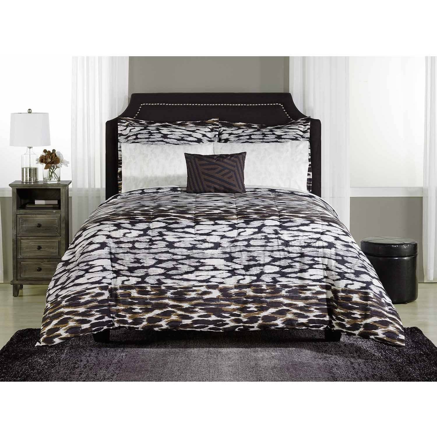 Mainstays Zaria Bed-in-a-Bag Bedding Set