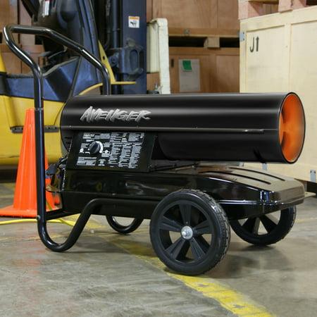 Avenger Portable Kerosene Multi-Fuel Heater - 175,000 BTU, Model# (Best Fuel For Kerosene Heater)