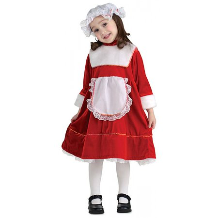 Lil' Mrs. Santa Child Costume - (Li'l Tree Frog Costume)