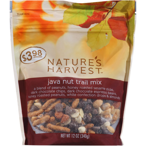 Nature's Harvest Java Nut Trail Mix, 16 oz