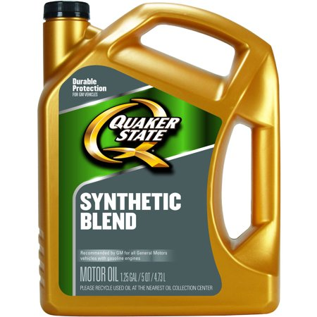 quaker state 5w30 dexos synthetic blend motor oil 5 qt