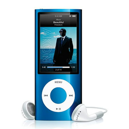 Apple iPod Nano 5th Generation 8GB Blue ,Like New, No Retail Packaging!