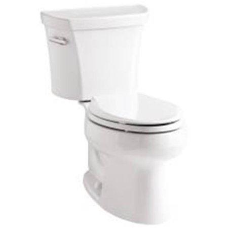 Kohler Wellworth Toilet Tank 1.6 Gpf White Rh (Portrait Toilet Tank)