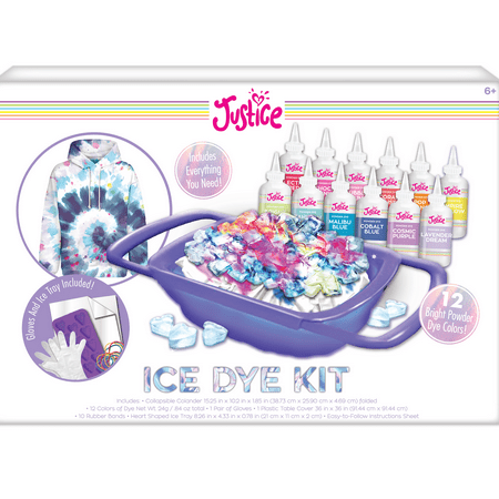 Justice DIY Tie-Dye Ice Dye Kit