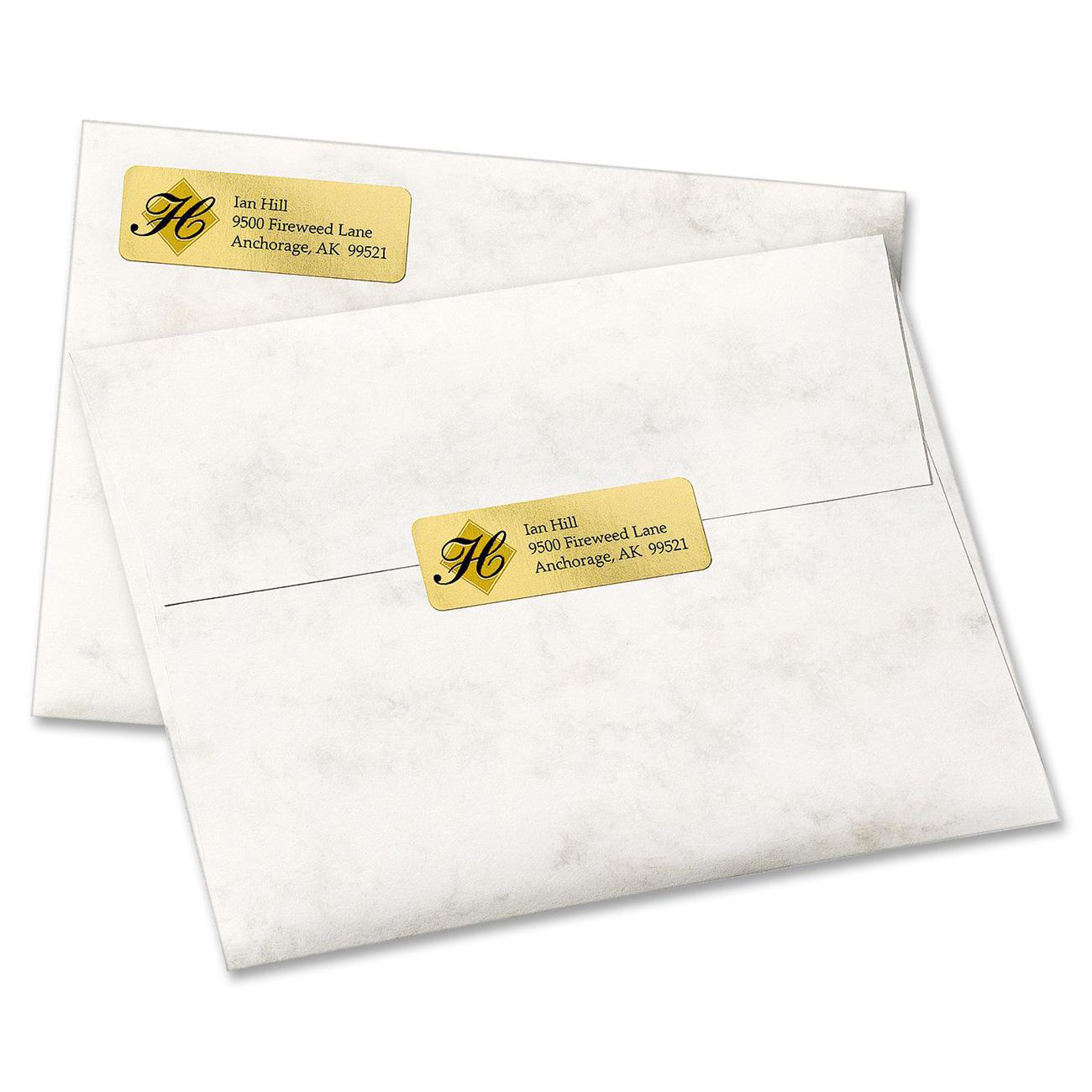 avery gold address labels for inkjet printers 3 4 x 2 1 4 300