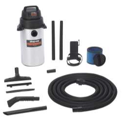 Shop Vac 9253900 Wall Mount Stainless Steel Garage Vac