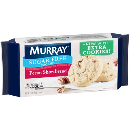 - (2 Pack) Murray Sugar Free Pecan Shortbread Cookies 8.8 oz. Pack