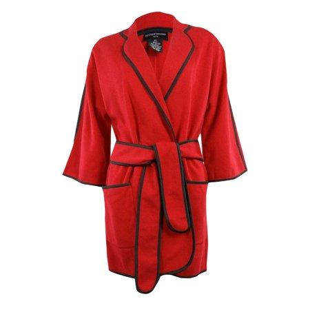 Womens Loungewear Wide Sleeve Topper Jacket Petites